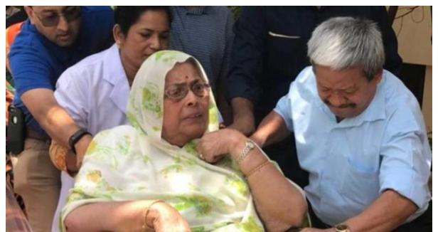 मध्य प्रदेश के पूर्व मुख्यमंत्री स्वर्गीय अर्जुन सिंह एवं मध्य प्रदेश के पूर्व नेता प्रतिपक्ष अजय सिंह राहुल की मां का उपचार के दौरान दिल्ली में निधन