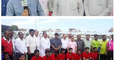 पूर्व नेता प्रतिपक्ष अजय सिंह राहुल  के मुख्य अतिथि में हुआ, हॉकी लीग भोपाल का समापन,मानसरोवर भोपाल बना विजेता।