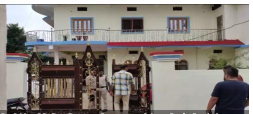 सीधी जिला पंचायत में पदस्थ सहायक परियोजना अधिकारी भूपेंद्र पांडे के घर लोकायुक्त का छापा