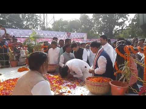 सीधी जिले के ग्राम सुपेला में पूर्व मंत्री स्व. इन्द्रजीत कुमार पटेल की प्रथम पुण्य तिथि मनाई गई का देखें लाइव वीडियो
